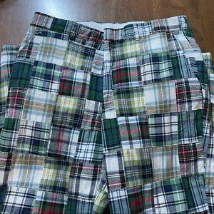 Vintage Berle plaid pants